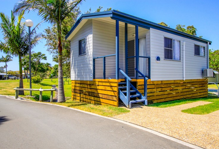 BIG4EastBeachKiama Norfolk Cabin 1