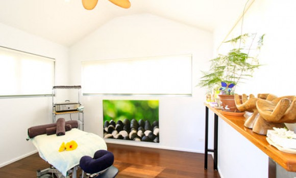 Enjoy a massage in our in-park studio